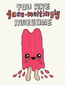Awesome Popsicle - Betty Turbo Greeting Card - Ottawa, Canada