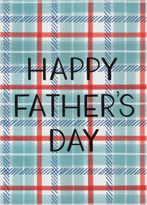 Dad Plaid Greeting Card