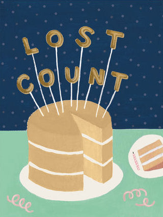 Lost Count - Slightly Stationery Greeting Card - Ottawa, Canada
