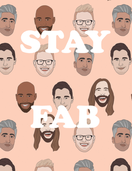 Stay Fab - Party Mountain Paper Greeting Card - Ottawa, Canada