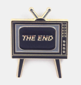 The End Enamel Pin
