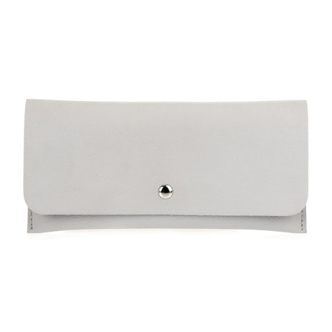 Flap-Over Wallet - Grey