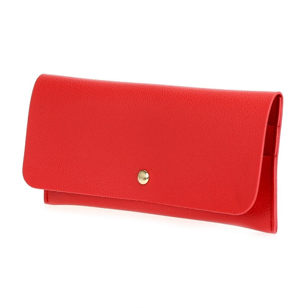 Flap-Over Wallet - Red