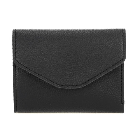 Mini Envelope Folded Wallet - Black
