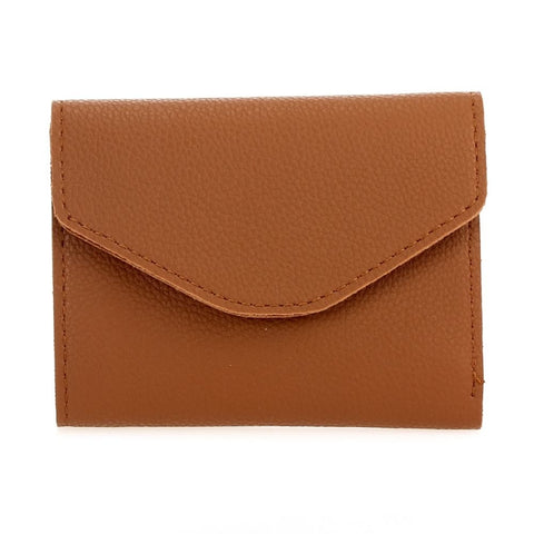 Mini Envelope Folded Wallet - Tan