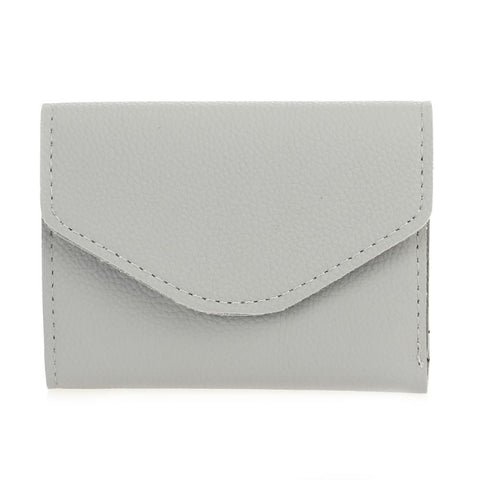 Mini Envelope Folded Wallet - Grey