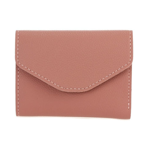 Mini Envelope Folded Wallet - Rose