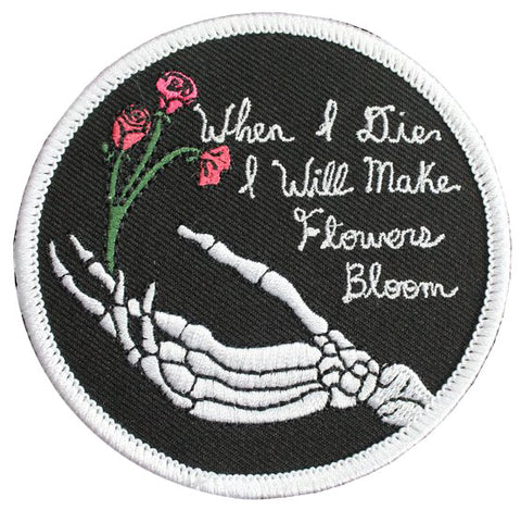 Flowers Bloom Patch