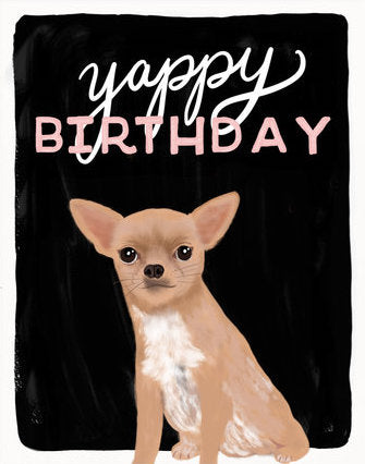 Yappy Birthday - Slightly Stationery Greeting Card - Ottawa, Canada