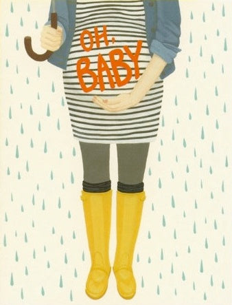 Baby Bump - Yeppie Paper Greeting Card - Ottawa, Canada