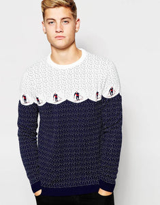 Jumper With Skiiers