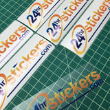 Clear Stickers - 24hrstickers