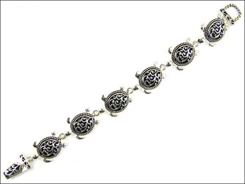 Tailored Turtle Magnetic Bracelet - AB4103-AS