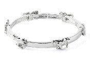 Galloping Horse Stretch Bracelet - AB712H-AS