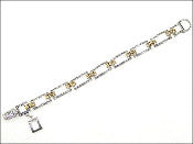 Two-Toned Bracelet - MB3900LF-TT