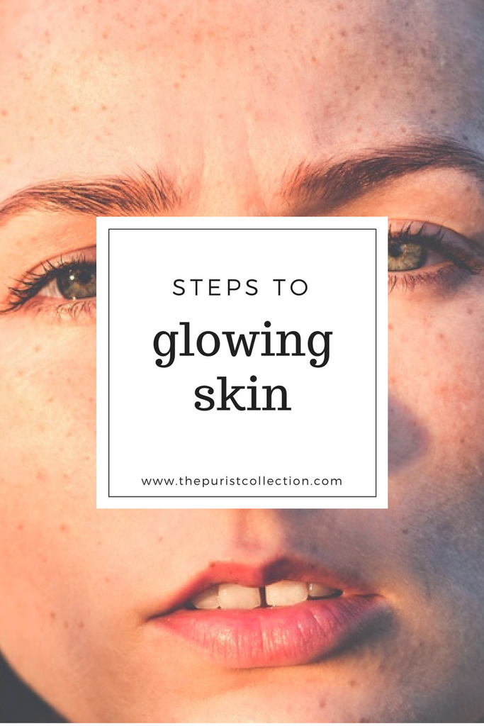 Get Clear and Glowing Skin with 3 Products