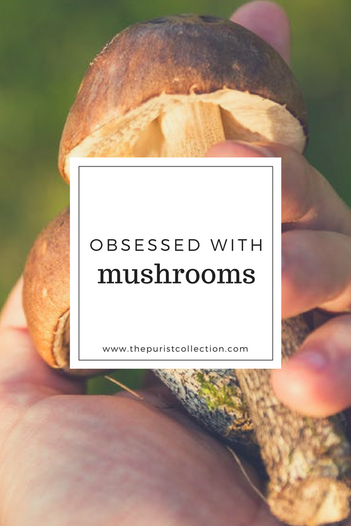 Obsessed with: Mushrooms