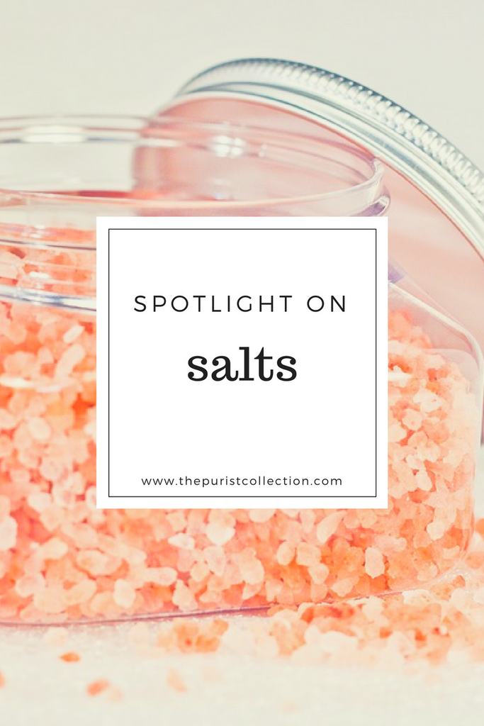 Spotlight on: Salts