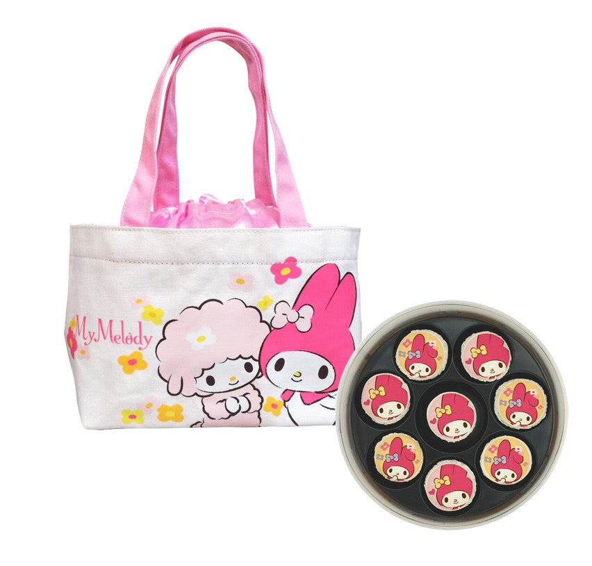 MM - My Melody Macaron Box with Tote Bag