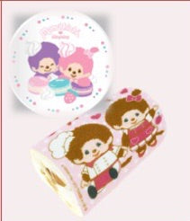 "MCC - Monchhichi Rollcake with 8"" plate"
