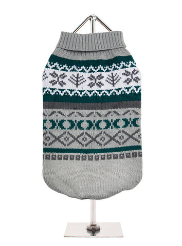GREY NORWEGIAN VINTAGE JUMPER
