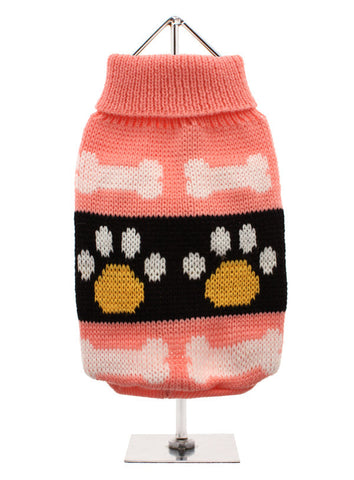 PINK PAWS JUMPER