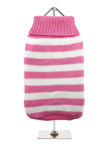 PINK WHITE CANDY STRIPE JUMPER