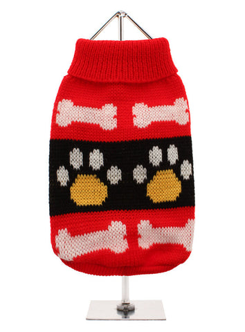RED PAWS JUMPER