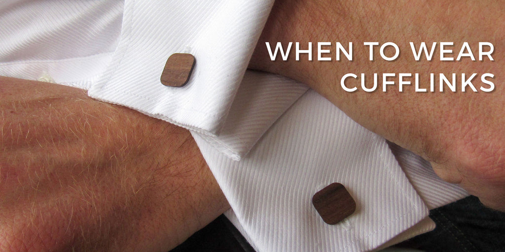 When To Wear Cufflinks