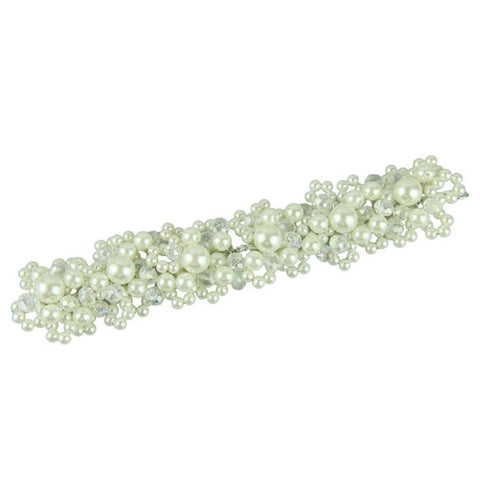 Beautiful Crystal Rhinestone Decorations Petal For Wedding Hair Clips