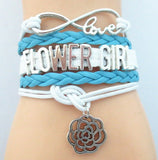Bracelet - Infinity Love Blue Wedding Bracelets