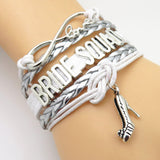 Bracelet - Infinity Love Bride Squad Wedding Bracelets