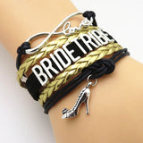 Bracelet - Infinity Love Bride Tribe Wedding Bracelets