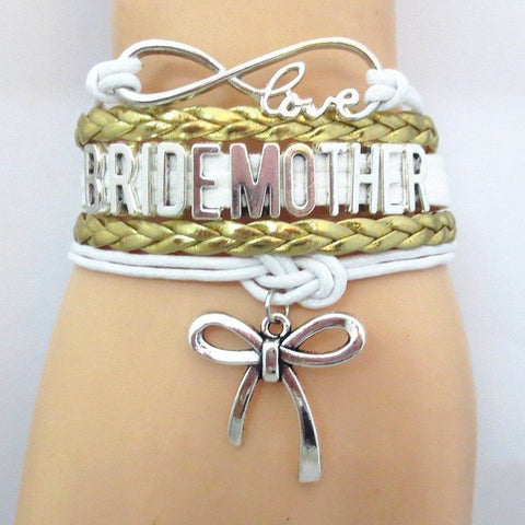 Bracelet - Infinity Love Gold Wedding Bride Mother Gift Bracelets - 50% Off