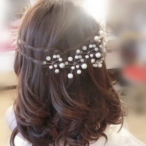 Hot Flower Crystal Hair Clips Hairpin Trendy Wedding Bridal