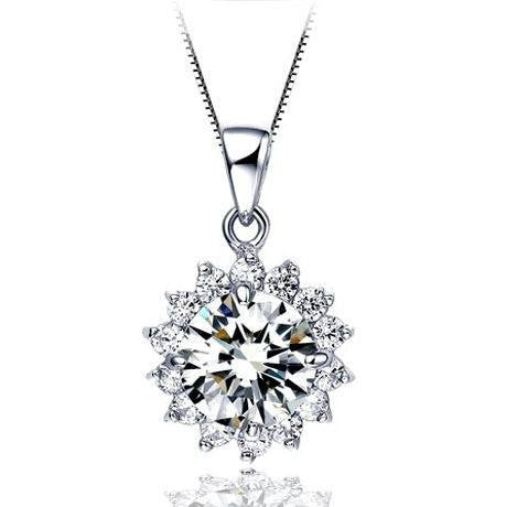 Necklace - Platinum Plated Necklace - Save $5.00 Off