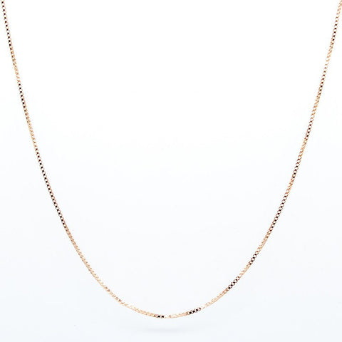 Necklace - Sterling Silver Necklace 45cm - 50% OFF Sale