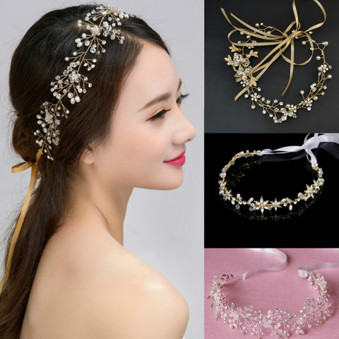 bridal wedding hair wear hair piece jewelry