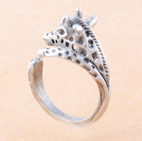 plated women new rings white fashion with for shape exquisite color sterling wedding gold design item jewelry silver animal leopard