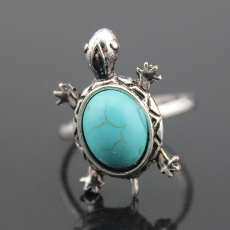 in asos stone rings western pack of blue normal jewelry lyst turquoise product