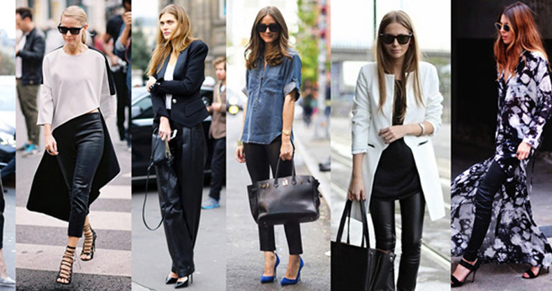 The Trendiest Leather Pants and How to Wear Them