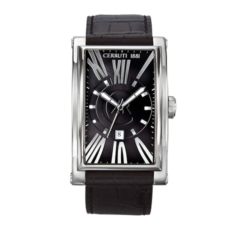 Cerruti Black Men Watches
