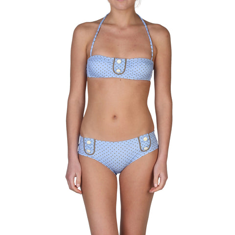 Chloe Blue Women Swimwear