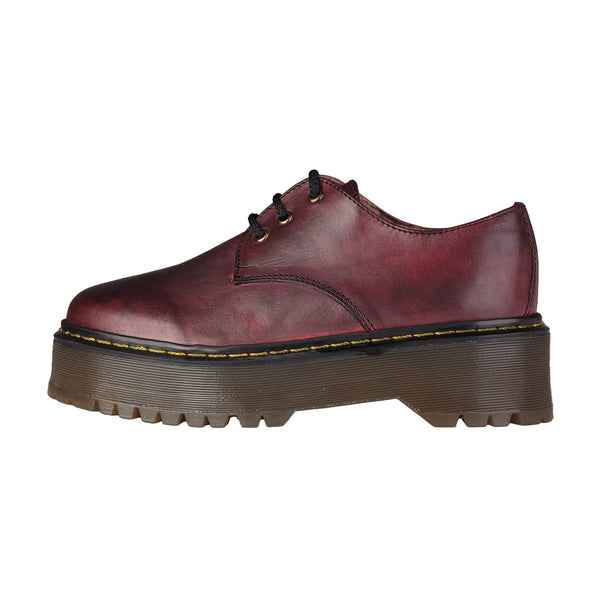 Ana Lublin maroon Women Lace up