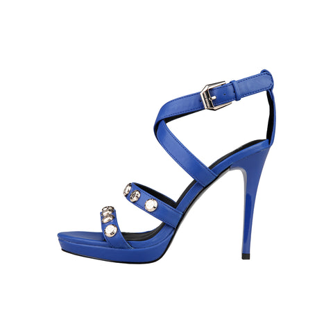 Versace Jeans Blue Women Sandals