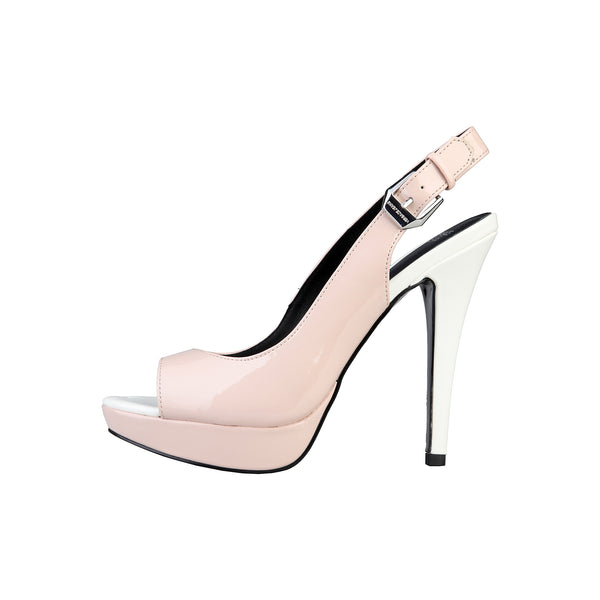 Versace Jeans pink, white Women Sandals