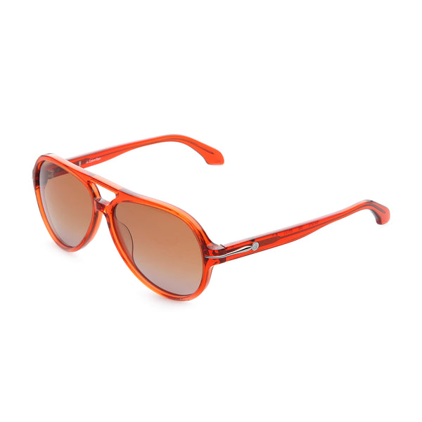 Calvin Klein Orange Unisex Sunglasses