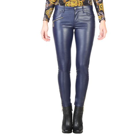 Versace Jeans navy Women Trousers