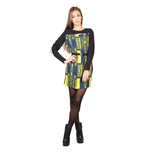Versace Jeans black, yellow Women Dresses