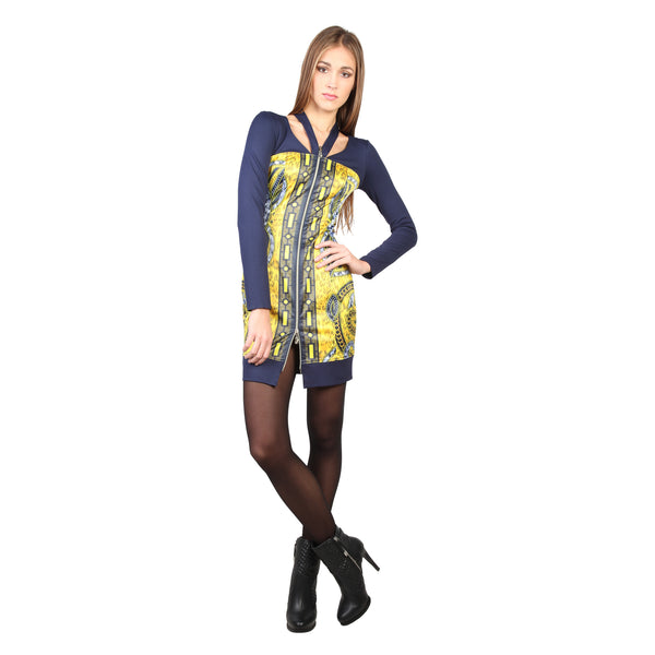 Versace Jeans yellow, navy Women Dresses